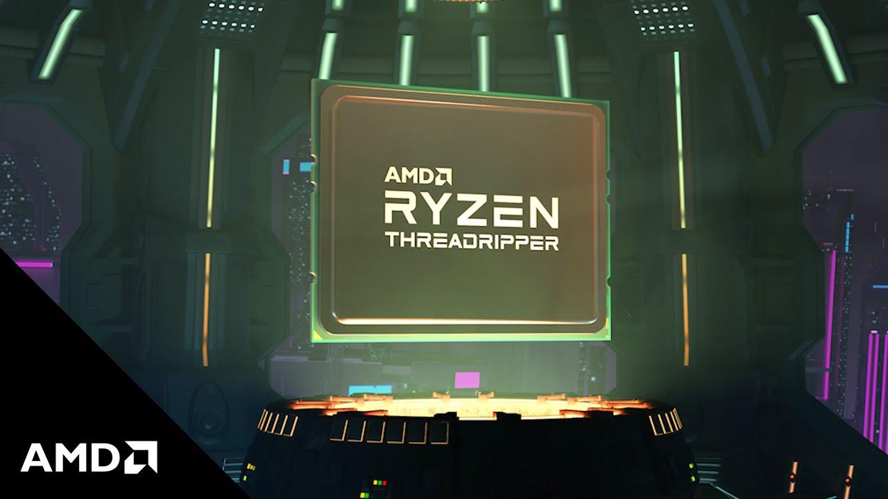 AMD Ryzen™ Threadripper™ 3990X: One Processor to Render Them All