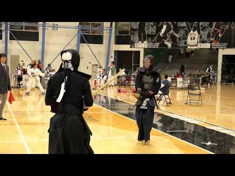 Kendo 2017 Nikkei Games 3 Dan Division: Round Robin 15