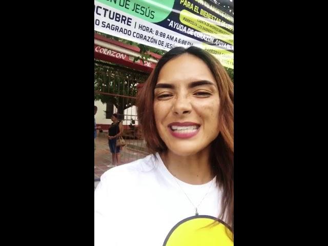 La modelo samaria Viña Machado, hace parte del equipo #Asilotón2018, solo haces falta tú