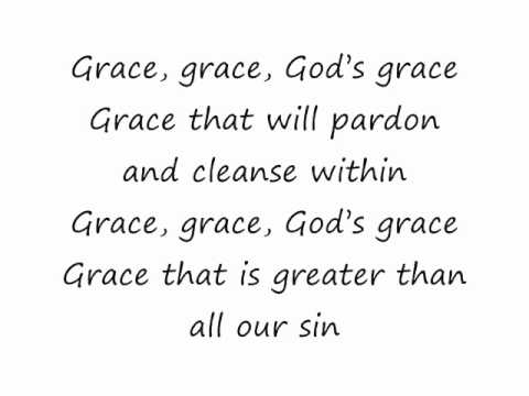 Gods great grace lyrics