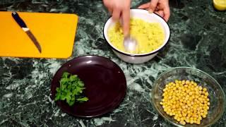 Салат с нутом и авокадо Вкусно и полезно