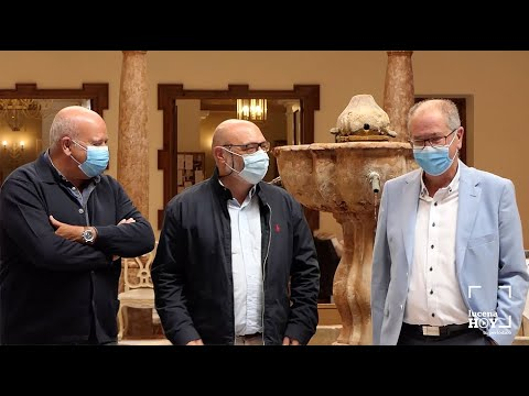 VÍDEO: El portavoz de Vox en el Parlamento Andaluz, Alejandro Hernández estuvo este sábado en Lucena