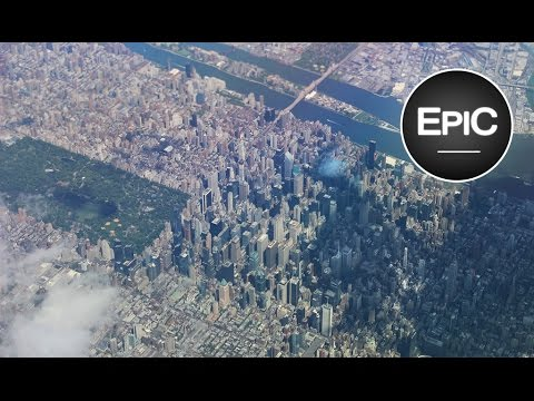 Landing at John F. Kennedy International Airport (JFK) - New York City, U.S. (HD)