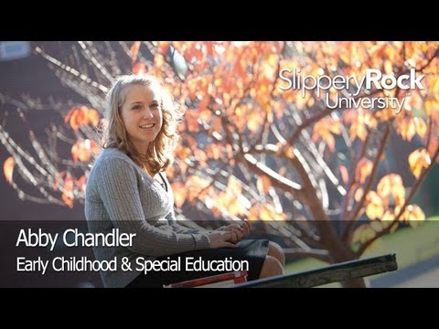 SRU Success Stories - Abigail Chandler, Elementary & Special Education Major