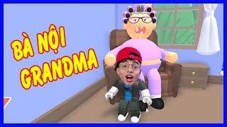 ThắnG Tê Tê Chốn Thoát Khỏi Ngôi Nhà Của Bà Nội Roblox | Escape Grandma's House Game
