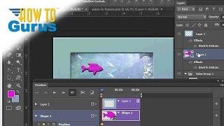 How to Edit Video Animation in Adobe Photoshop - CS5 CS6 CC Video Editing Tutorial