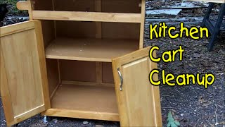 Kitchen Cart Cleanup