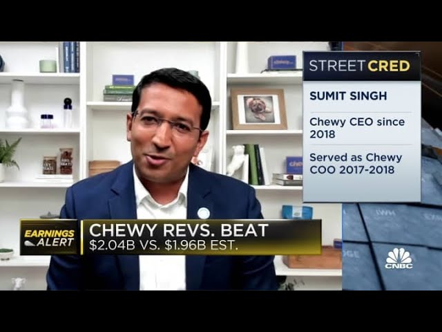 Chewy CEO Sumit Singh discusses his strategy on gaining new customers