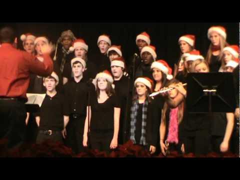 Pat A Pan Song - HCHS Choir Christmas 2010
