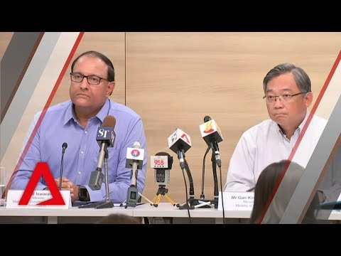 Ministers Gan Kim Yong and S Iswaran on 'massive' Singapore health system cyberattack