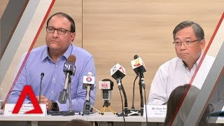 Ministers Gan Kim Yong and S Iswaran on