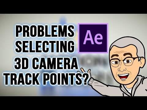 AFTER EFFECTS: Quick Tip - 3D Camera Tracker