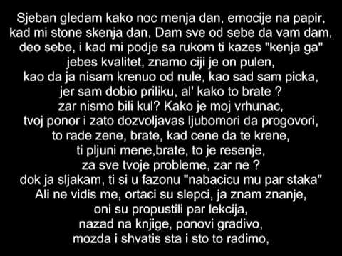 Ministar Lingvista - Sve je kul (Pljuni me). tekst