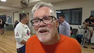 FREDDIE ROACH (FROM AUSTRALIA) ON MANNY PACQUIAO v JEFF HORN & SPARRING PARTNER GEORGE KAMBOSOS