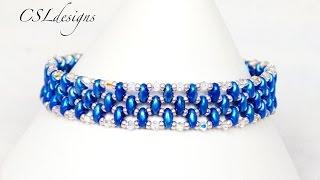 Elegant SuperDuo bracelet
