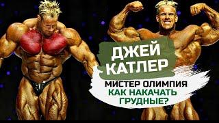 Джей Катлер. Секреты больших грудных мышц / Тренировка груди и икроножных / Мотивация