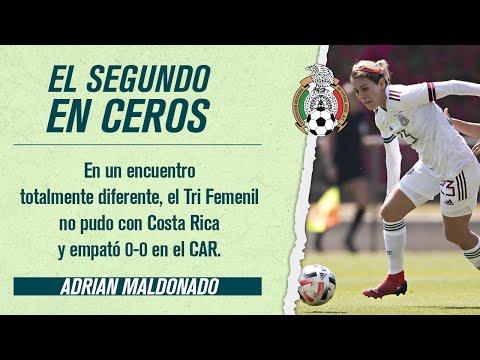 El Tri Femenil perdonó a Costa Rica en su segundo amistoso | ONCE Diario