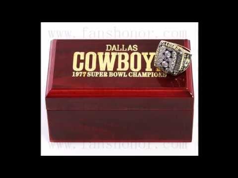 Custom NFL 1977 Super Bowl XII Dallas Cowboys Championship Ring