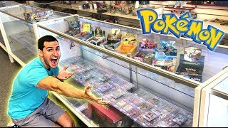 TOUR OF RARE VINTAGE POKEMON CARDS HEAVEN! - Opening OLD Pokemon Cards!