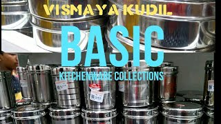 kitchenware collections/cookware things purchase ideas/kitchen storage boxes/saravana store shopping