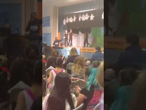 talent show Del Mar Elementary school