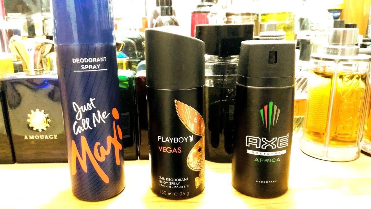 Just Call Me Maxi/Axe Africa/Playboy Vegas Body Sprays Reviews