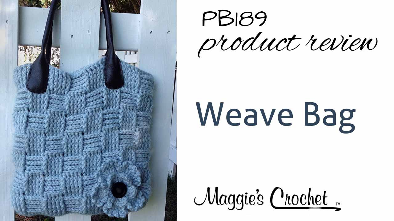 Basket weave bag product review pb189 youtube basket weave bag product review pb189 maggies crochet bankloansurffo Choice Image