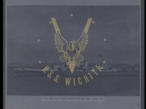 USS Wichita CA 45 WWII Cruise Book Preview