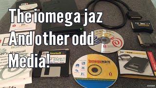 Vintage Tech: Jaz Drive, Slides and Rare Video Tape Formats!