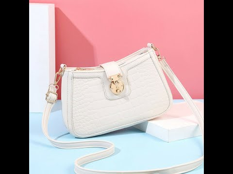 Beautiful Slingbag with Crescent Shape Style