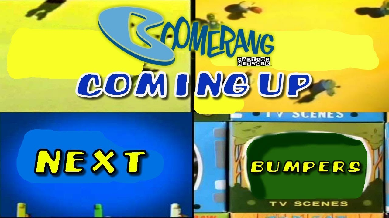 Boomerang Coming Up Next Bumpers Collection (2000-2012