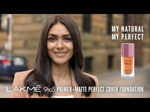 New Lakmé 9to5 Primer + Matte Perfect Cover Foundation