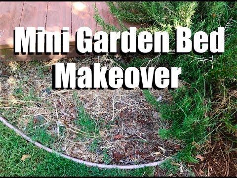 Mini Garden Bed Makeover // Garden Vlog