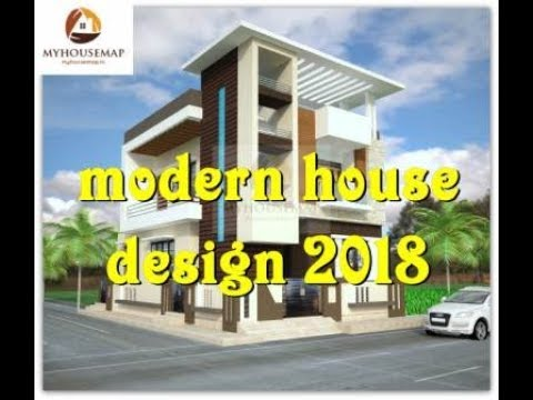 modern house design 2018 floor plan elevation – Modern House Floor Plans And Elevations