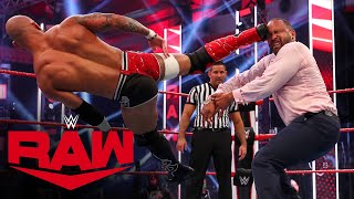Ricochet & Cedric Alexander vs. Bobby Lashley & MVP: Raw, July 6, 2020