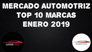 Mercado Automotriz Top 10 Marcas - Enero 2019