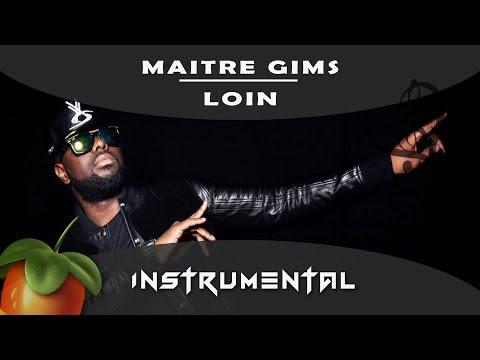 Maitre gims - Loin [ INSTRUMENTAL ] Remake sur fl studio