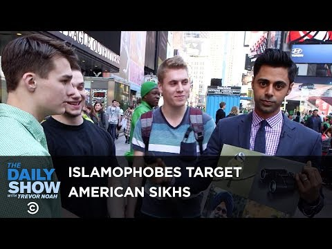 Thumbnail: Confused Islamophobes Target American Sikhs: The Daily Show