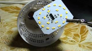 замена светодиода 5730 в лампе