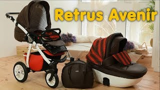 видео Купить коляску Tutis Zippy 3 в 1 - идеальное сочетание комфорта и безопасности