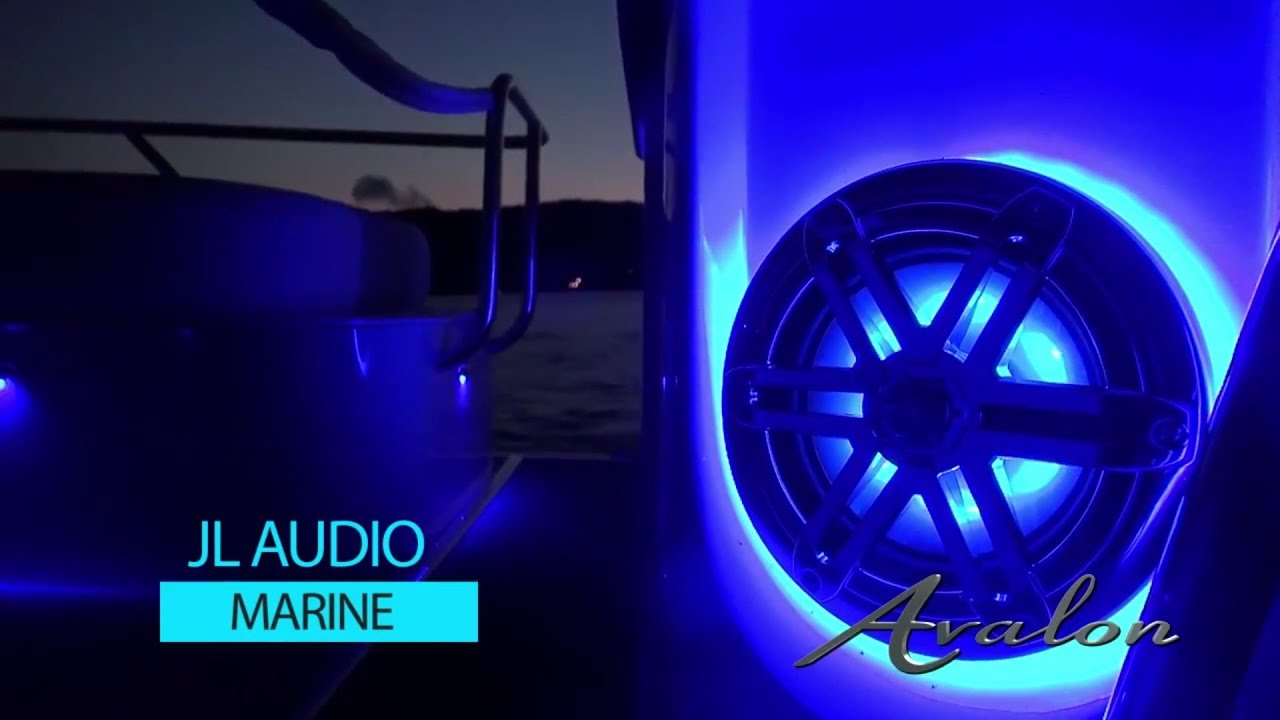 Pontoon Boat Speakers Jl Audio System Avalon Pontoons