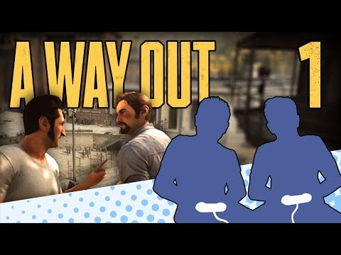 A Way Out - PART 1 - When Vincent Met Leo - Let's Game It Out |