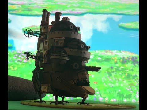 Howl's Moving Castle- Papercraft
