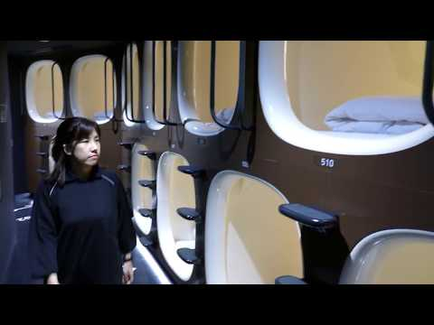 New women-only capsule hotel in Tokyo, Japan [RAW VIDEO]
