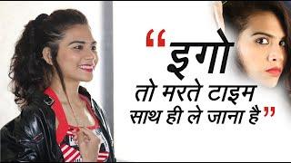 Ego to Marte Time Sath Me Hi Le Jana Hai | Shayari Videos | nikigandhi8 -Tik tok Shayari Queen