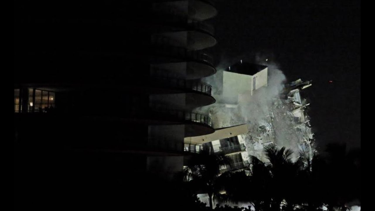 Surfside condo building: before, during and after the demolition
