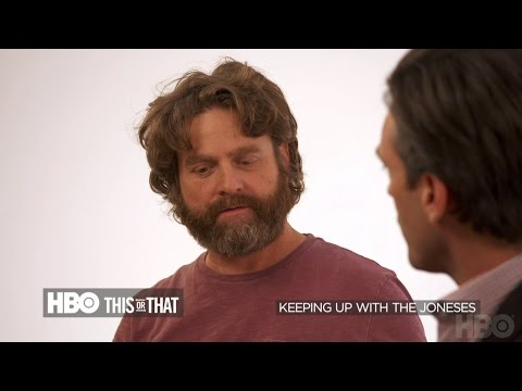 HBO This or That with Jon Hamm and Zach Galifianakis