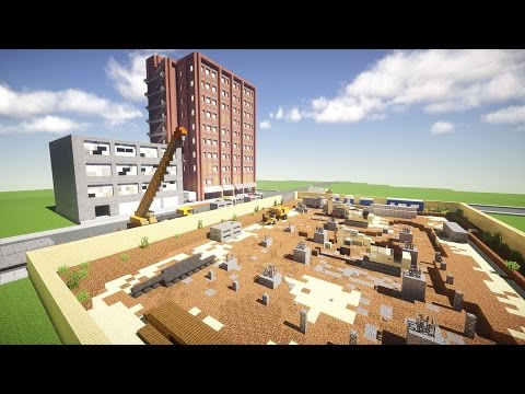 FoxShot Realistic Creative Minecraft Server Tour