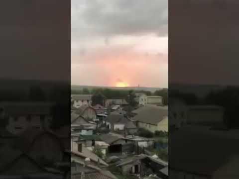 Небесная кара - на складах боеприпасов российских оккупантов в Красноярском крае снова взрывы