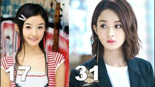 Zanilia Zhao Liying 赵丽颖 I From 1 To 31 Years Old 從1到31嵗的變化